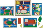 Melissa &amp; Doug Beginner Pattern Blocks