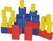 Melissa & Doug� Basic Cardboard Blocks  (set of 40)