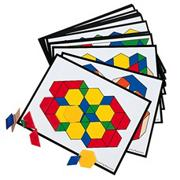 Pattern Block Cards (set of 36)