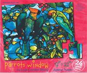 Parrot's Window Art Puzzle