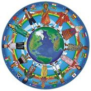 Melissa &amp; Doug Children Around the World Floor Puzzle