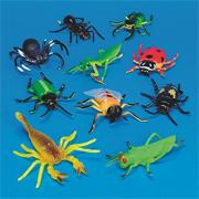Plastic Insects  (set of 10)