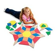 Giant Pattern Blocks (set/49)