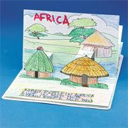 Houses Around The World Pop-Up Book (pack of 6)