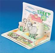 Farm Animals Pop-Up Book (pack of 6)