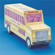 School Bus Community Vehicle (pack of 6)