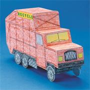 Recycling Truck Community Vehicle (pack of 6)