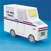 Mail Truck Community Vehicle<Lead-in>�</Lead-in> (pack of 6)