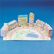 Mall City Scape (pack of 12)
