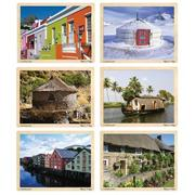 Melissa & Doug�  Houses Around the Globe Puzzle Set (set of 6)