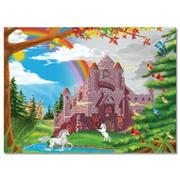 Melissa & Doug� Enchanted Castle Cardboard Jigsaw Puzzle