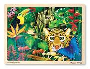Melissa &amp; Doug Rainforest 48 Piece Wooden Jigsaw Puzzle