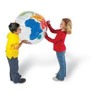 Inflatable Labeling Globe
