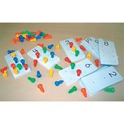 Peg-It Number Boards (set of 10)