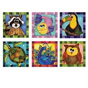 Crazy Critters Puzzle Collection (set of 6)