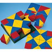 Geometric Design Cubes (set of 16)