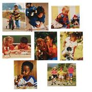 Children's World Puzzle Set (set of 8)