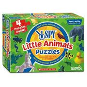 I SPY� Little Animals Puzzles (pack of 4)
