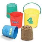 Melissa & Doug� Nesting Pails (set of 4)