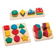 Rainbow Sorting Board Set (set of 3)