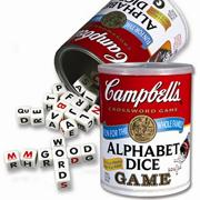 Campbell&#039;s Alphabet Dice Game