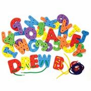 WonderFoam� Lacing Letters and Numbers