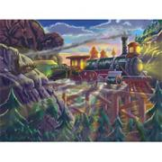 Melissa &amp; Doug Eagle Canyon Railway Puzzle, 200 pcs.