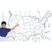 United States Map Learning Wall