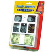 Play Money - Coins & Bills Tray