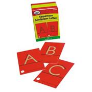 Sandpaper Uppercase Letters (set of 26)