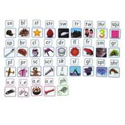 Phoneme Magnets Blends Set of 65