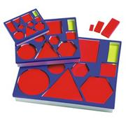 Attribute Blocks Desk Set of 60