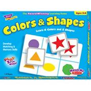 Colors & Shapes Match Me� Game