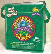 Noah&#039;s Park Children&#039;s Church Kit: The Green Edition