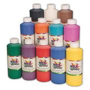 Color Splash! Liquid Tempera 16 oz. Assortment (pack of 12)