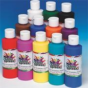 8-oz. Color Splash! Liquid Tempera Paint, Assorted Colors  (pack of 12)