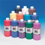 Color Splash! 32-oz. Liquid Tempera Paint Assortment  (pack of 12)