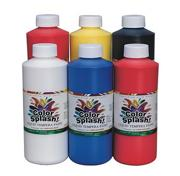 Color Splash!� Liquid Tempera Paint, 16 oz. (pack of 6)