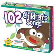 102 Children&#039;s Songs (set of 3)