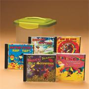 Fitness Fun with Manipulative CD Set of 5