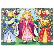 Melissa &amp; DougPrincess Dress-Up Mix &#039;n Match Peg Puzzle
