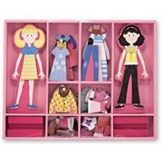Melissa &amp; DougAbby &amp; Emma Magnetic Dress-Up Play Set (set of 60)