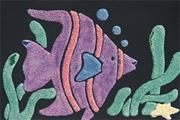 Pop Art Boards, Sea Creatures  (pack of 12)