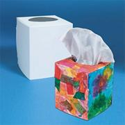 Color-Me Precut Tissue Boxes  (pack of 24)
