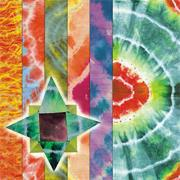 Tie Dye Decorative Craft Paper  (pack of 32)