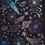 "Holographic Sparkle Soft-Scratch Glitter Board, 8-1/2""x11""  (pack of 30)"