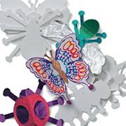 3-D Bug Fold-Ups Craft (pack of 24)