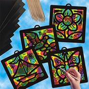 Scratch-Art��Light Catcher� Pack  (pack of 12)