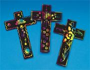 Scratch-Art��Crosses  (pack of 24)