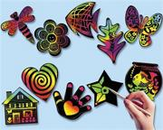 Scratch-Art� Creative Shapes (pack of 50)